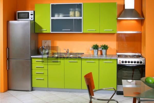 Оранжевые кухни фото дизайн