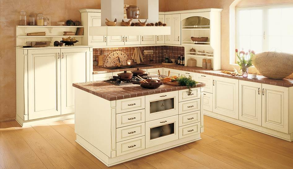 Интерьер мозаика в кухне