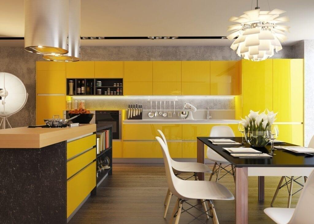 Желтый и черный