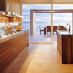 brown-wall-kitchen