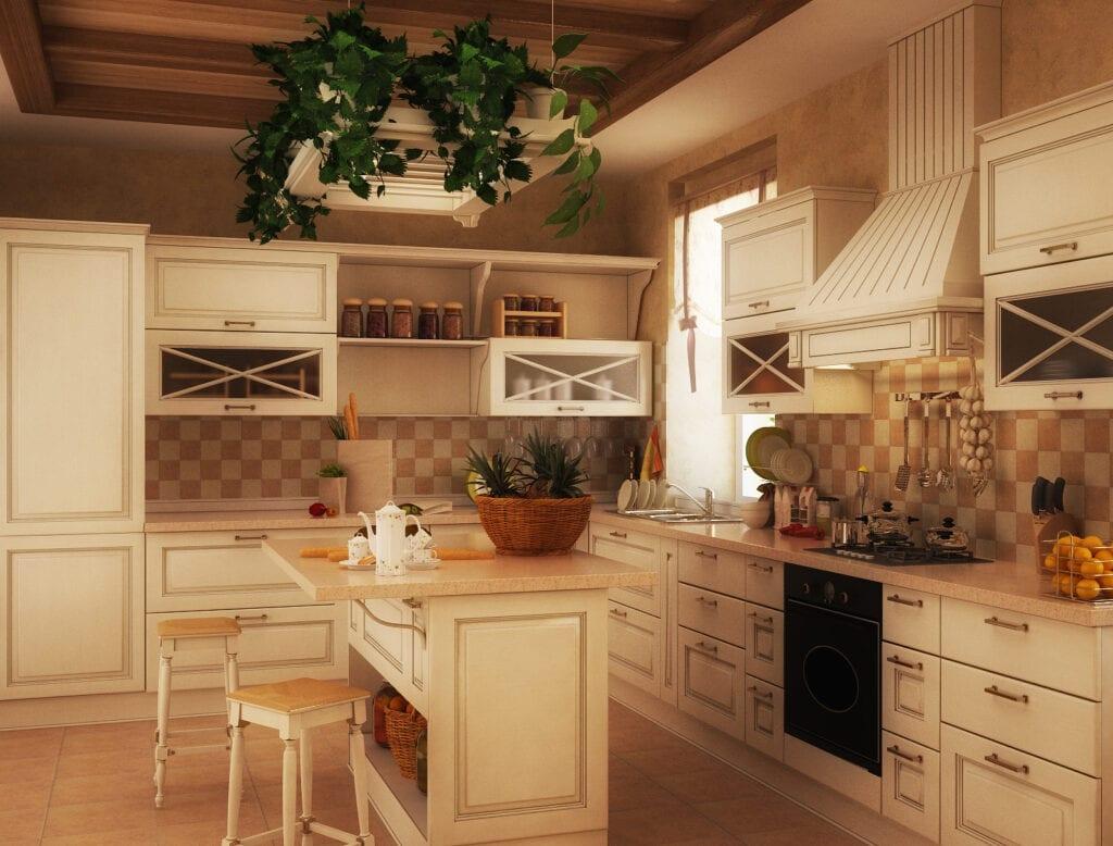 Фото идеи кухни кантри