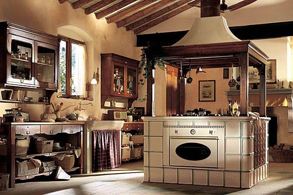 Оформление в итальянской кухне