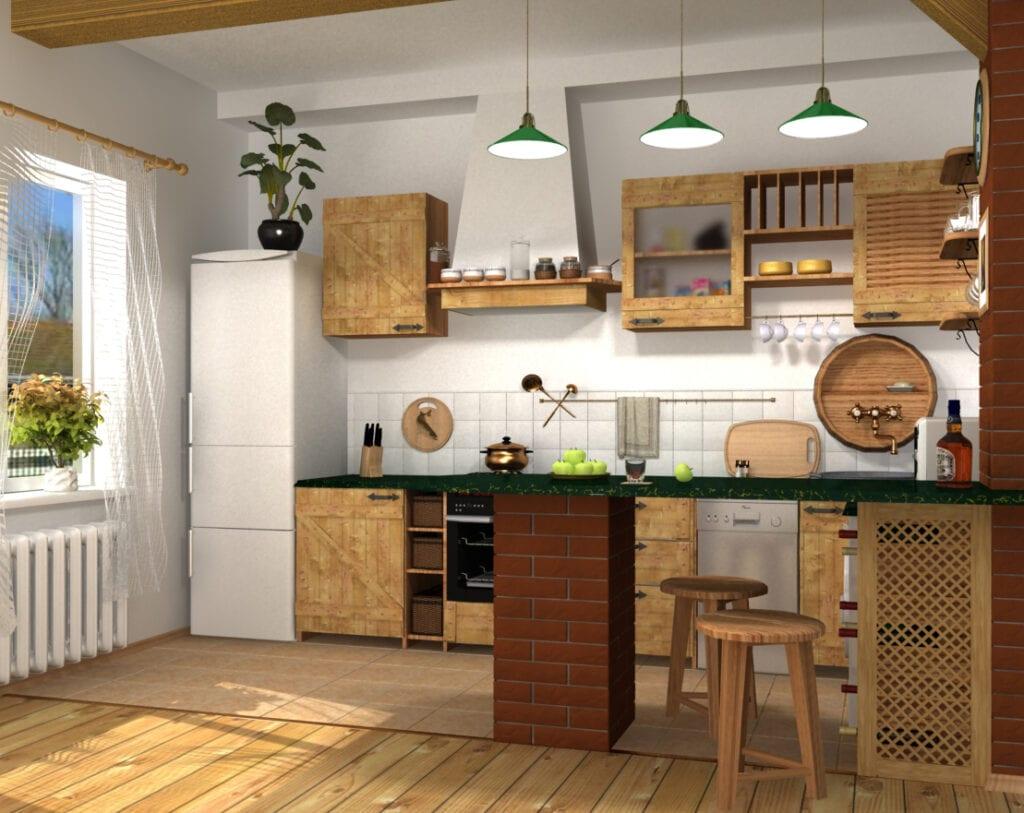 Вытяжки для кухни кантри