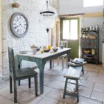 kitchen-exposed-white-stacked-stone-wall-with-square-lime-stone-tiling-french-country-kitchen-adorable-contemporary-french-country-style-kitchens