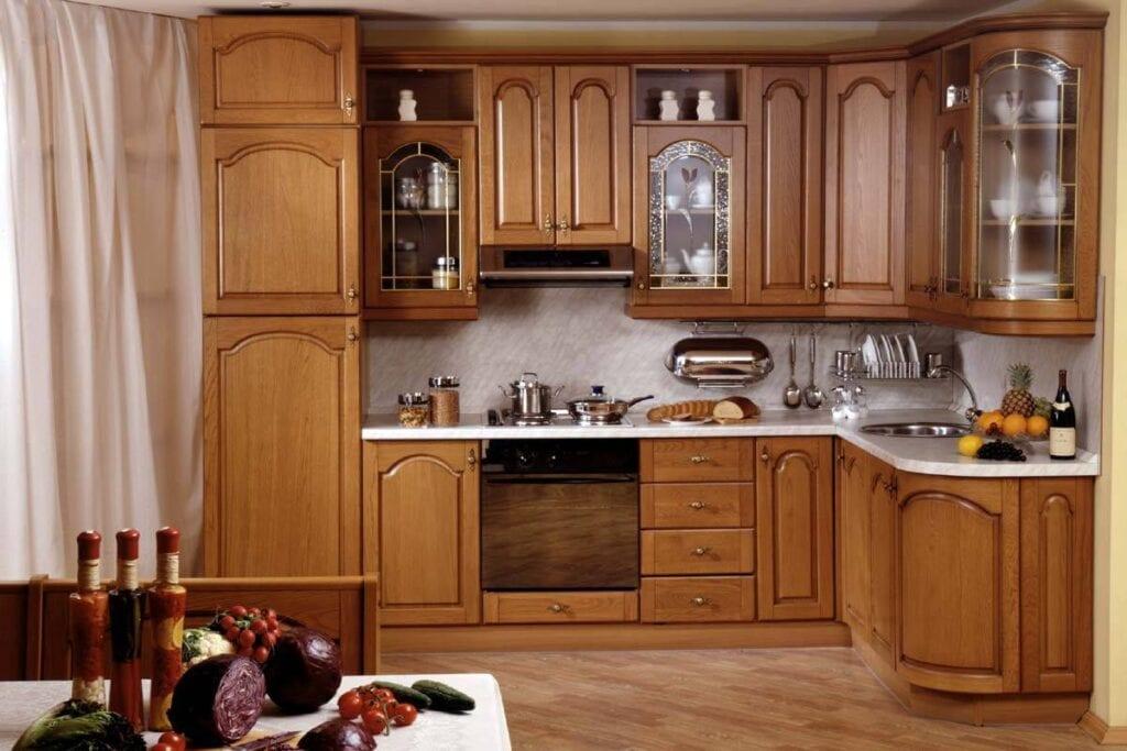 Коричневая кухня: фото идей, кухонные гарнитуры, дизайн мебе.