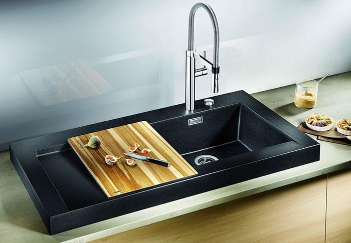 Преимущества кухонной мойки из керамогранита