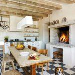 средиземноморский стиль в интерьере сельского дома 24