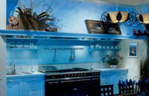 Кухня в морском стиле