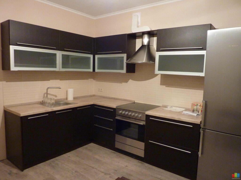 Дизайн кухни из ламината фото