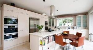 Кухня в скандинавском стиле: мебель, светильники, декор