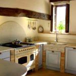Beautiful Rustic Small Kitchen Design Ideas Small Window Hidden Lighting