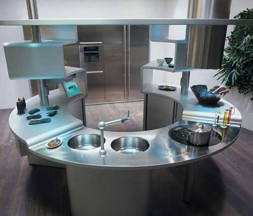Основные черты кухни Hi-tech