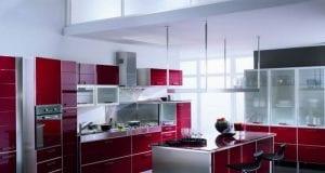 Кухня в стиле хай-тек: 100 фото идей дизайна