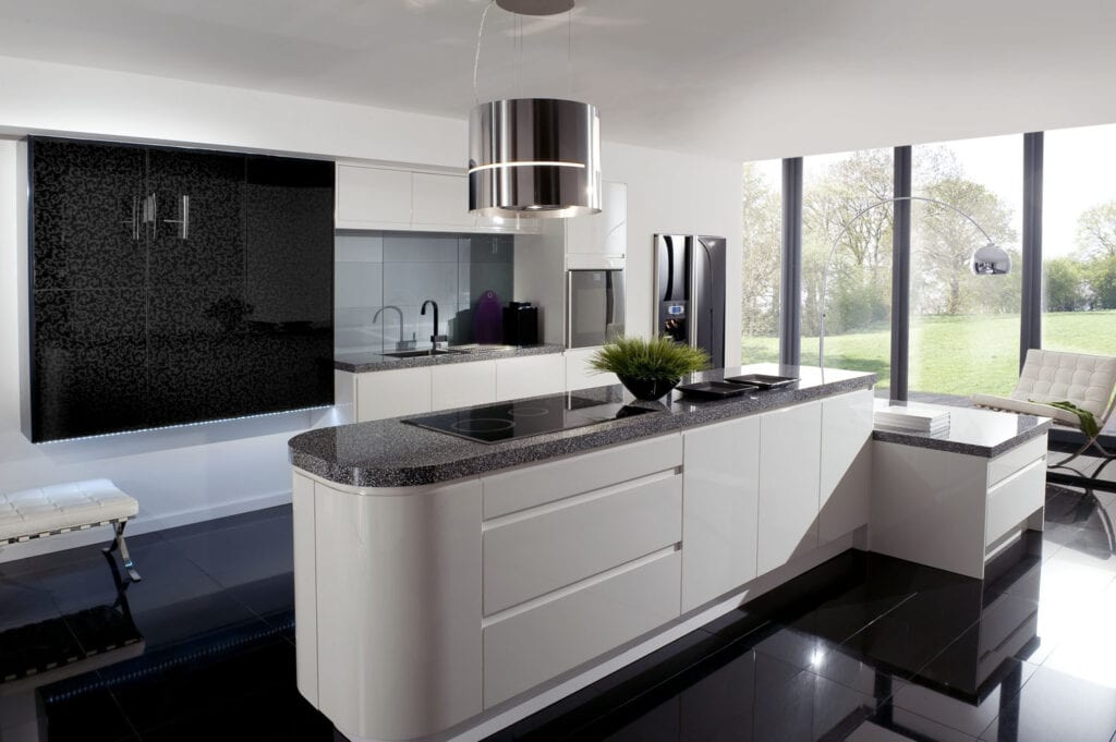 Black and white kitchen cabinets photos Online Cabinets Direct - Official Site