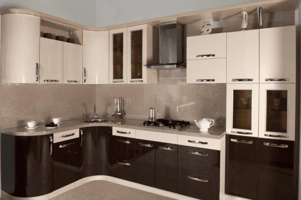 Кухня венге и беж
