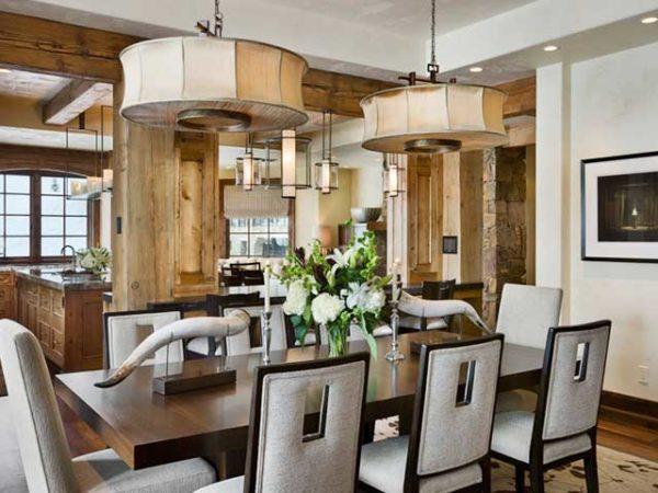 Стиль шале — уют и очарование кухни