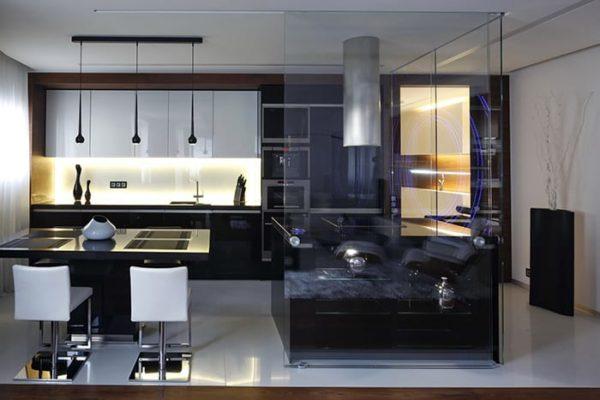 Мебель для кухни в стиле минимализм