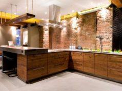 Стиль лофт на кухне: дух американского авантюризма
