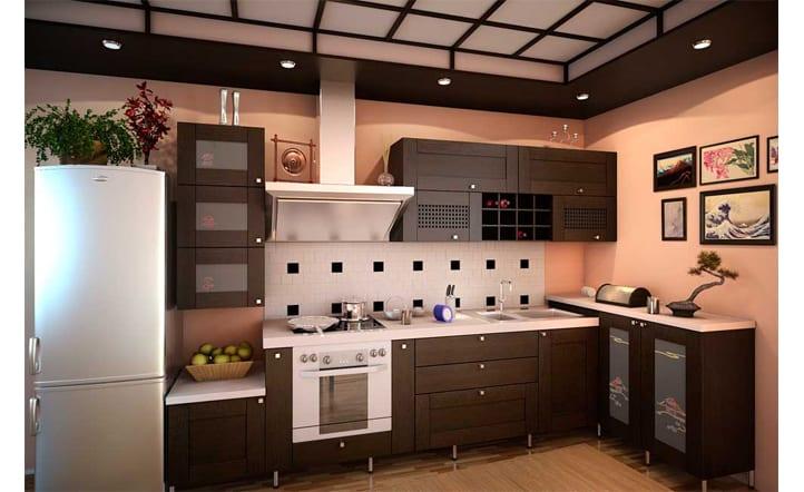 фото кухня в японском стиле