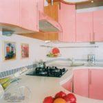 дизайн обои для кухни фото