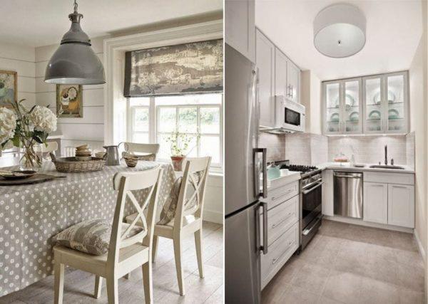 Серая кухня: фото готовых проектов
