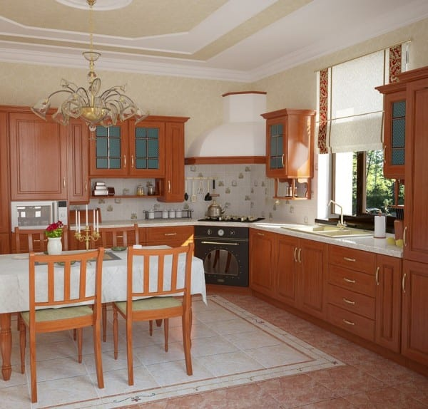 Дизайн кухни в частном доме своими руками фото