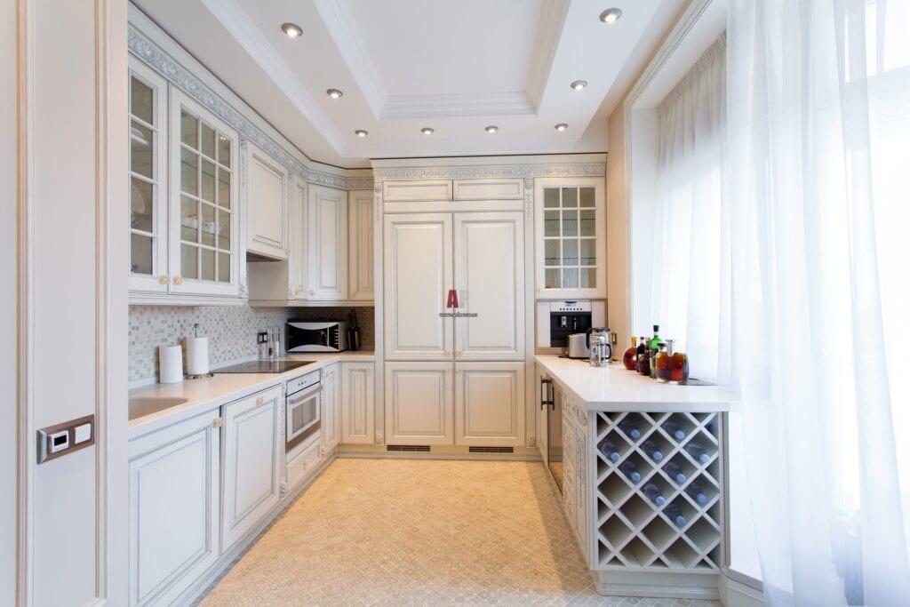 Современная классика: кухня и оформление ее интерьера.