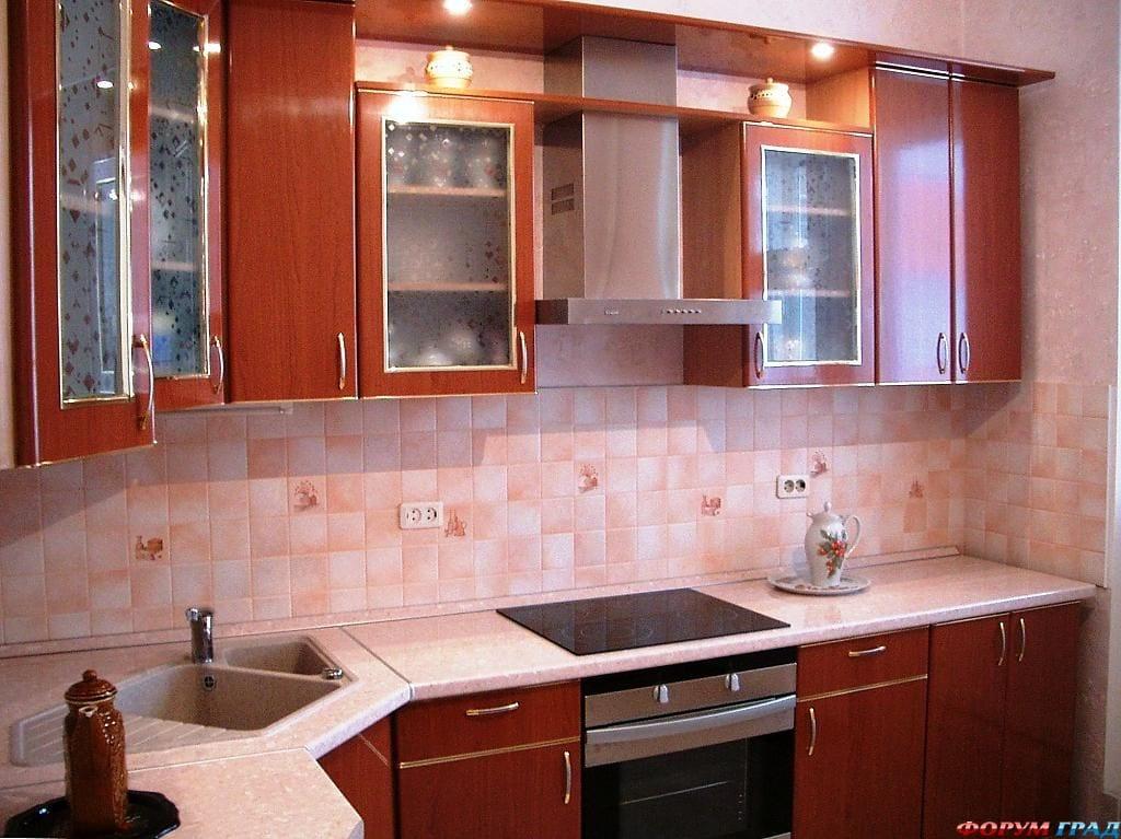 Кухонный гарнитур эконом дизайн
