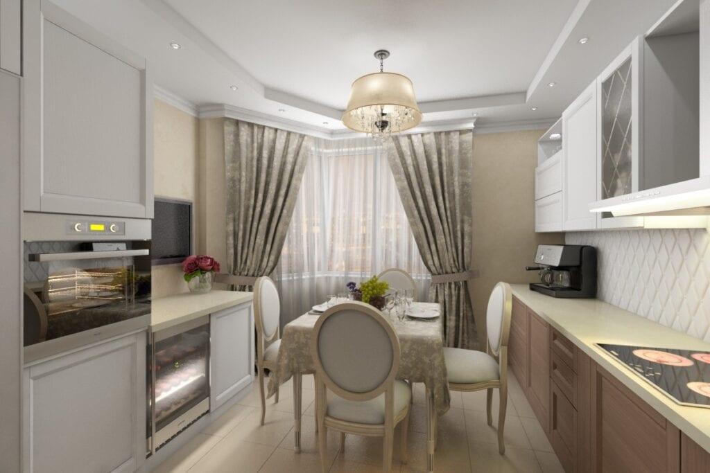 Дизайн в стиле кухни