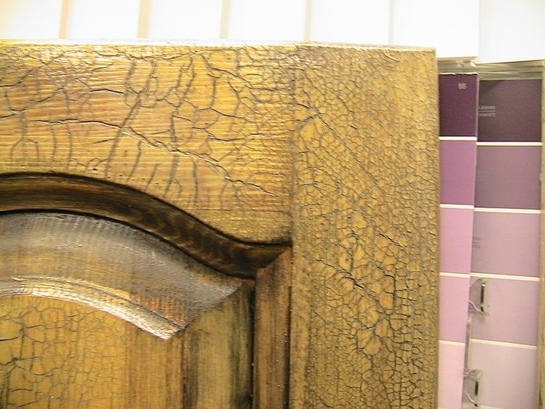 Кракелюрный лак для мебели своими руками