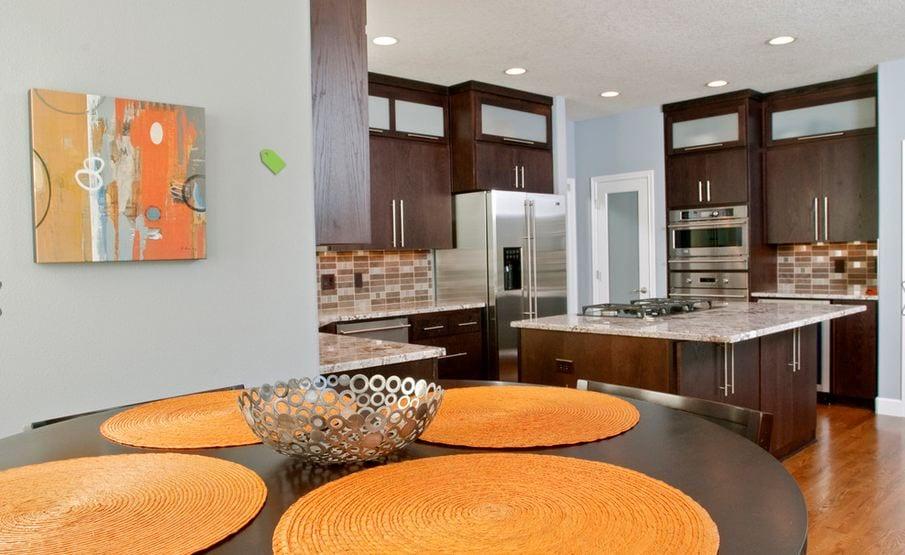 Оранжевый цвет в интерьере 50 варинатов - Сундук идей