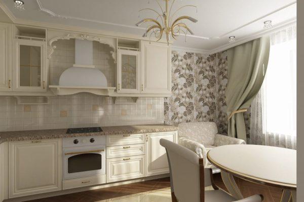 Фото кухни классики дизайн