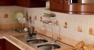 Фартук из плитки для кухни