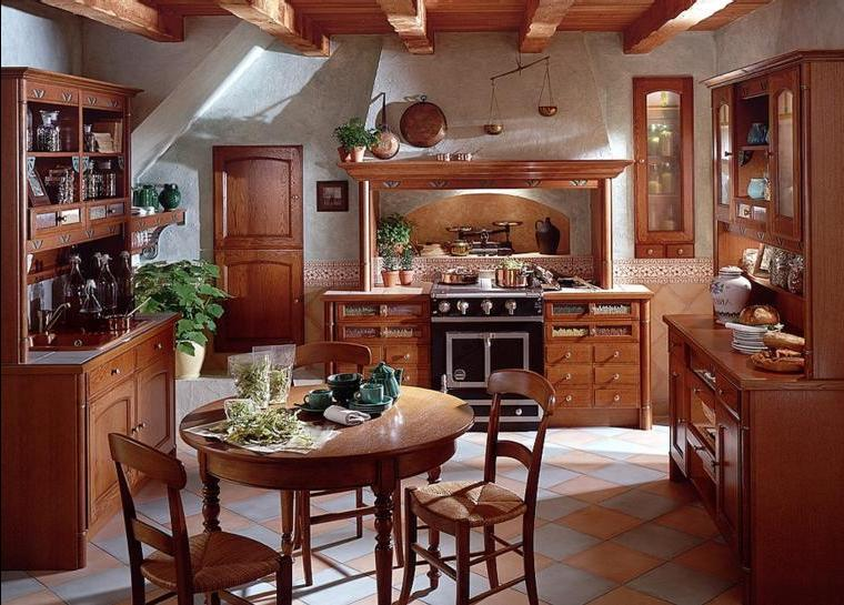 Фото дизайн деревенской кухни