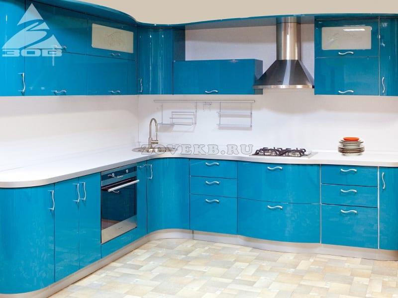 Фасады для кухни эмаль глянец