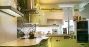 Оливковая кухня: 50 фото, удачное сочетание оливкового цвета