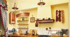 Кухня в деревенском стиле и ее дизайн