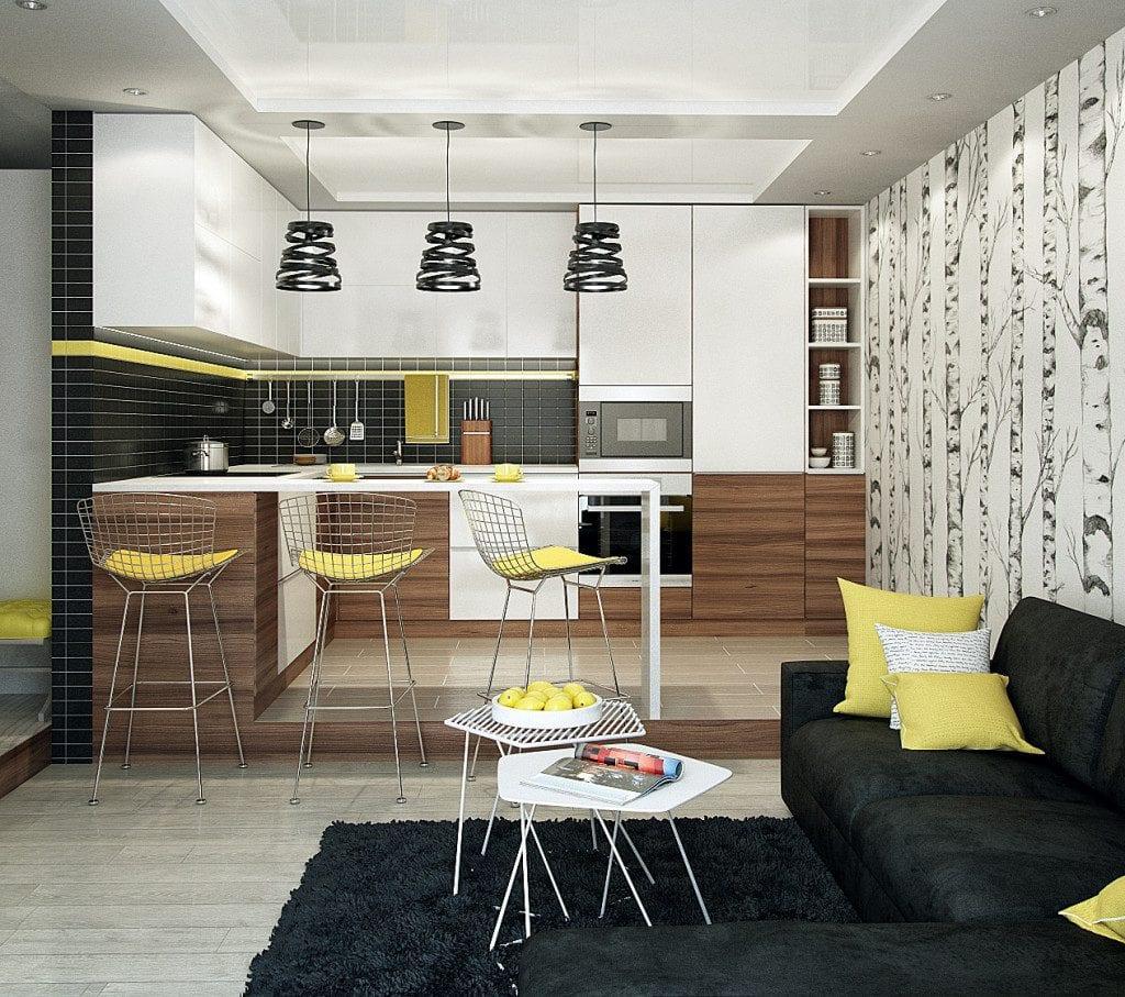 Как правильно сочетать цвета в интерьере кухни