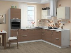 Кухня капучино, кофейная, кремовая и шоколадная: фото