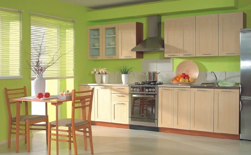 Цвет ваниль мебель фото