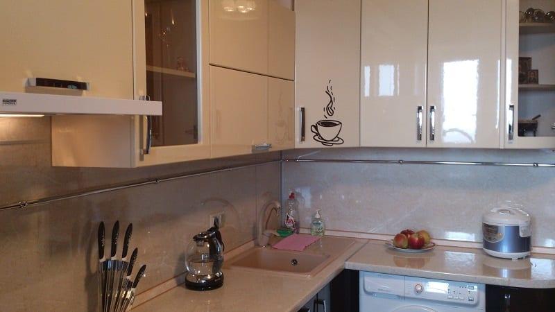 Кухня ваниль фото