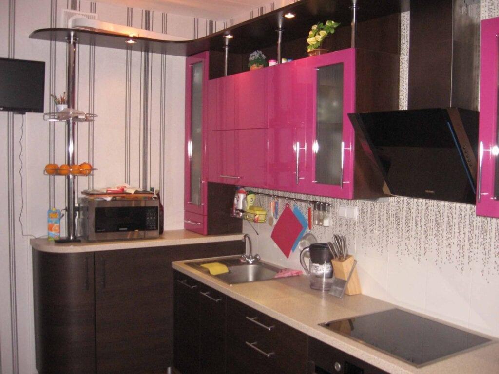 Дизайн кухонь 9 кв угловые