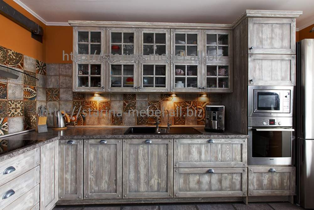 Как состарить фасады кухонного гарнитура своими руками