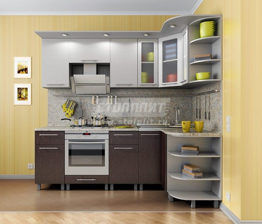 Кухни угловые недорого столплит размеры угловой кухни шкафов