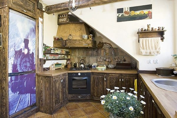 Дизайн старых кухонь в квартире