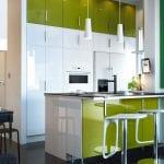 antique-modern-green-kitchen