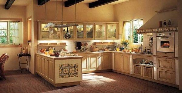 Кухня кантри: дизайн