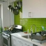 green-kitchen-with-regard-to-delectable-kitchen-with-green-backsplash-and-solid-white-cabinetry