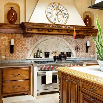 Такая кухня дарит ощущение спокойствия и умиротворенности