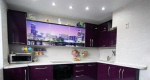 Двухцветные кухни